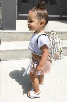 Cute Little Girls Outfits, Cute Baby Girl Outfits, Kids Outfits Girls, Toddler Girl Outfits, Cute Baby Clothes, Cute Baby Girl Pics, Cute Toddlers, Cute Kids, Baby Girl Fashion