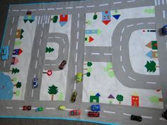 adesivo de parede infantil pista de corrida - Google Search