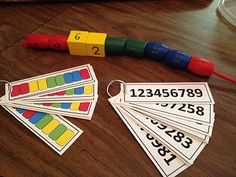 ideas: numbers, colors, sequencing