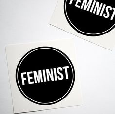 Feminist Sticker Women's Rights Large 3