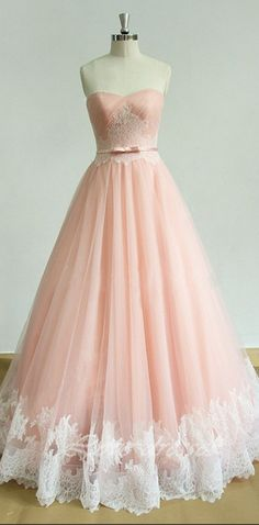 Ball Gown Prom Dress, elegant long prom dress sweetheart applique a-line pink evening dress Shop Short, long ball gowns, Prom ballroom dresses & ball skirts Pretty ball gowns, puffy formal ball dresses & gown Prom Dresses For Teens, Ball Gowns Prom, A Line Prom Dresses, Tulle Prom Dress, Homecoming Dresses, Cute Dresses, Lace Dress, Long Dresses, Party Dresses