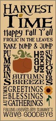 Harvest Time,