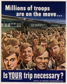 US poster - WWII
