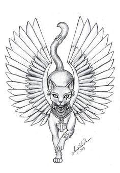 Resultado de imagen para mo ganji cat tattoo