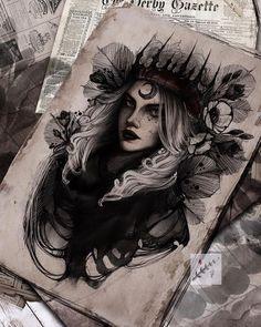 Dark Art Drawings, Tattoo Design Drawings, Art Drawings Sketches, Tattoo Sketches, Tattoo Designs, Cute Tats, Bild Tattoos, Dark Tattoo, Tatoo Art