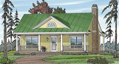 COUNTRY COTTAGE 1 House Plan - 6644
