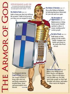 armor of god breastplate craft | Armor of God Wall Chart - Christian Supply