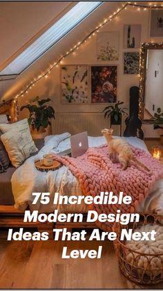 Cute Bedroom Decor, Room Design Bedroom, Room Ideas Bedroom, Fall Bedroom, Cozy Teen Bedroom, Earthy Bedroom, Warm Cozy Bedroom, Cool Bedroom Ideas, Grunge Bedroom