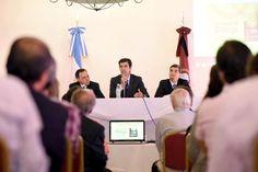 Juan Manuel Urtubey asistió a la inauguración de obras de remodelación de la sede social de la Cámara Salteña de la Construcción
