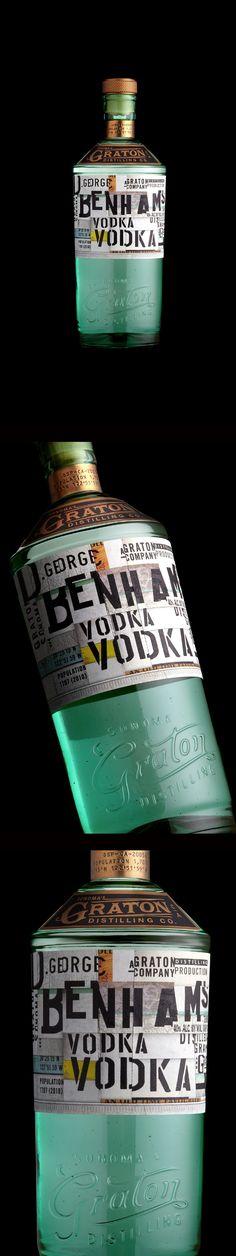 Benham Vodka by Stranger & Stranger