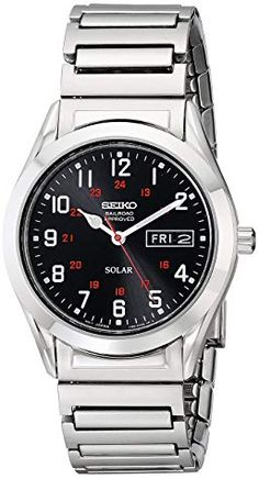 ea2cac94486 Seiko Men s Silvertone Solar Expansion Scs Watch Review Mens Watch Brands