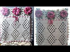 Passo a passo capa para cadeira *encosto* por jennys croche - YouTube Crochet Videos, Blanket, Crafts, Youtube, Dining Chair Slipcovers, Crochet Home Decor, Crochet Leaf Patterns, Christmas Crochet Patterns, Crochet Ornaments