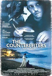 The Counterfeiters tells the story of the development of Operation Bernhard but from a very singular perspective - a Holocaust survivor who was from a privileged group of prisoners who worked in the counterfeit of currency as part of economic warfare. After the war, he lives a lavish life but after what happens after he realizes the truth of his actions?