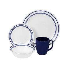 16-Pc. Bistro Dinnerware Set | dotandbo.com. #DotandBoDream