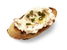 Get White Bean-Prosciutto Crostini Recipe from Food Network