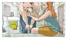 urbaniak ilustracje komiks muniowski