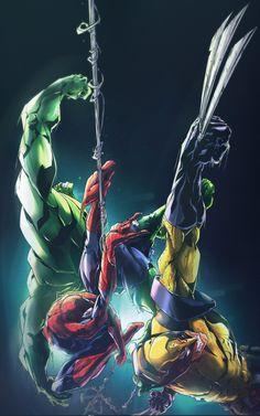 Marvel Comics, Marvel Memes, Marvel Avengers, Ultimate Hulk, Ultimate Marvel, Comic Movies, Comic Books Art, Comic Cloud, Marvel And Dc Characters