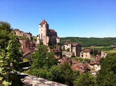 "Saint-Cirq-Lapopie - Voted ""Most beautiful village of France 2013"""