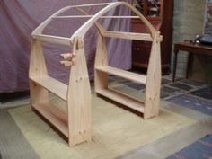 Playstand - roof section - slips into notches on bases.  If dreams could come true I'd have one of these and ditch all the other cubbies we've had that have never lasted. These are wonderful and so open ended and endlessly creative