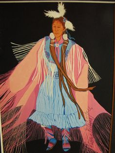 Ruthe Blalock Jones is Shawnee-Peoria-Delaware She has recieved more honors and awards than virtually any artist, anywhere kp