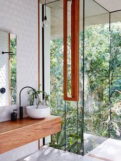 Much to our surprise, some of our most viral Pinterest pins ever have been super-designy bathrooms. Here are 19 of our favorites.