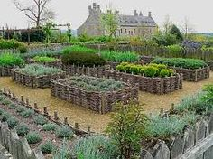 french chateau potager - Google Search