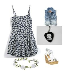 """""""5sos concert outfit"""" by ginaisanerd ❤ liked on Polyvore featuring Beacon, Wet Seal and Accessorize"""