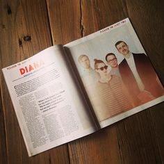 Looking back on this great article on @dianatheband in the March issue of Under the Radar!
