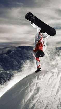 ♂ Extreme sports adventure snowboarding in Colorado