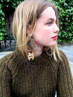 Boucles d'oreille, Aurélie Bidermann.