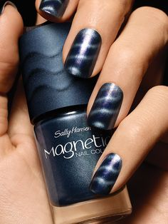 Beautiful New Magnetic Nail Polish from Sally Hansen. Available in 8 colors for pre-order exclusively from Walgreens.com!