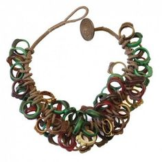 Moroccan Resin Hair Ornament Collar