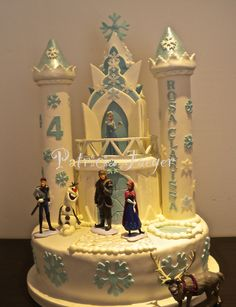 Torta Castello Frozen- Frozen Castle Cake