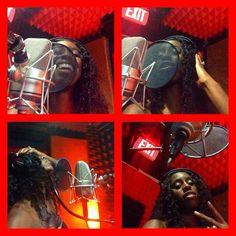 Trinity Fatu back in the studio