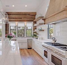 Modern Rustic Kitchen Gray 20+ gorgeous gray and white kitchens   farmhouse sinks, lantern