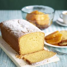 Orange And Almond Loaf Cake - Woman And Home