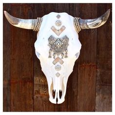 RHINESTONE COWBOY | #bejeweled #bones #southwest #vintage #shopart #beautiful…