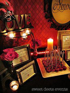 Sweet Deets Moulin Rouge Shower