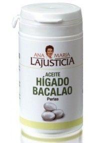 Ana Maria Lajusticia Higado de Bacalao 90 perlas. Comprar aqui: http://www.suplments.com/ana-maria-lajusticia-higado-de-bacalao-90-perlas