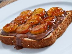 Sanduíche de nutella e banana caramelizada por marisouza.mariana | Doces e Sobremesas | Receitas.com