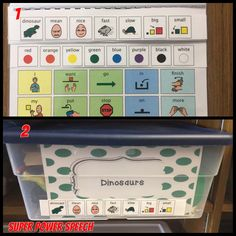 How to make a core vocabulary book with fringe vocabulary at the top and included with toys