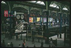Liverpool St. Station 1965 Vintage London, Old London, London City, Liverpool Home, Liverpool Street, London Pictures, London Photos, East End London, London History