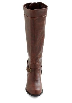 Steadfast Style Boot in Brown | Mod Retro Vintage Boots | ModCloth.com