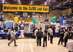 What was your experience like at the career fair? #SJSU  #CareerFair #helpingandcaring