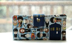 The Doctors Wallet: All the Doctors — one wallet ($55). Support Etsy artist Happy Kathy's shop and her well-made, adorable, and practical gear.