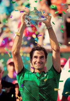 Roger Federer defeats Stan Wawrinka 6-4 7-5 in the BNP Paribas Open final to claim his 5th title in Indian Wells, 25th Masters 1000 trophy and 90th career title. At 35 years old he becomes the oldest...