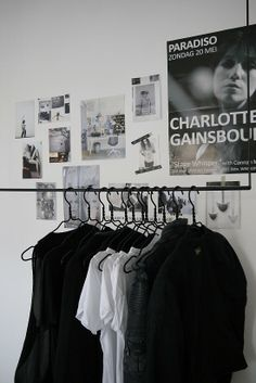 With all of the new clothes, I think I'm going to need a free standing clothing rack like this...
