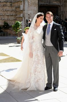 Prince Felix of Luxembourg and Princess Claire of Luxembourg - Religious Wedding Of Prince Felix Of Luxembourg & Claire Lademacher