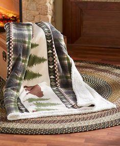 4 Pc Kodiak Bear Moose Sheet Set F Q K Country Cabin Lodge Bedroom Bedding Decor