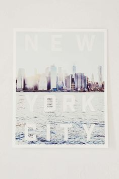 Arts District Printing Co. New York City Art Print - Urban Outfitters